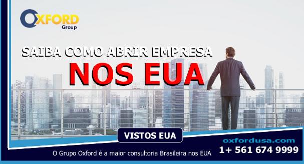 Abrir empresa nos EUA e Visto de Investidor EB5 Oxford Group A maior empresa Brasileira de Consultoria nos EUA