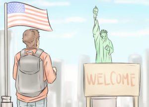 IMIGRANTES vem aos EUA por muitas razões diferentes Oxford Group Imigrantes nos eua
