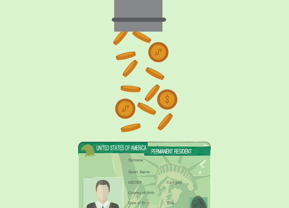 Como ganhar o green card e lucrar financeiramente em cima?