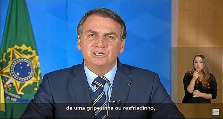 Discurso de Bolsonaro entra em conflito com a opinião de infectologistas