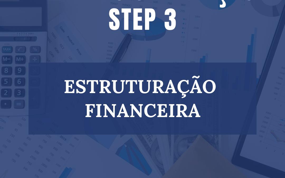 ROAD MAP ETAPA 3- ESTRUTURAÇÃO FINANCEIRA
